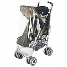 NEW Maclaren Rain Covers For Single And Twin Stroller Rain Shield Plastic Cover