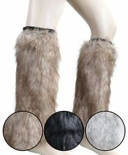 Chic Tall Fur Leg Warmers (FLW1001)