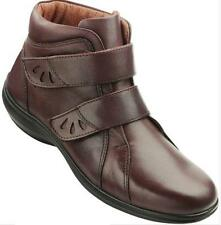 Ladies Wide Fit Comfort Ankle Boots All Sizes 3 to 8