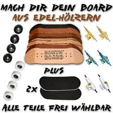 Fingerboard aus EDEL Holz,  SET von SOUTHBOARDS® Handmade Wood Fingerskateboard