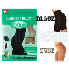 BLACK OR NUDE SLIMMING PANTS KNICKERS SHAPEWARE BODY CONTROL PARTY S/M/L/XL NEW
