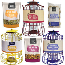 Squirrel Guard Bird FAT BALL SEED NUT feeder squirrel proof bird feeders