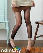 Admcity Sheer to Waist Footless Tights Pantyhose Sexy Lingerie Transparent Cute