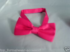 Quality HOT PINK Bow tie-*The More Bows U Buy The More £ U Save* Over 50 Colours