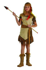 INDIAN PRINCESS CHILD KID COSTUME NATIVE AMERICAN POCAHONTAS GIRL COSTUMES 91342
