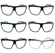 80s RETRO PARTY ROCK GLASSES  NEON FRAME LMFAO GLASSES ROCK POP PARTY WAYFARER