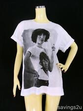 PATTI SMITH T-shirt, New Wave PUNK ROCK Indie, White Cotton S M L, Unisex, MUSIC