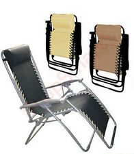 TEXTOLINE CAMPING RECLINER RECLINING CHAIR LOUNGER FISHING OUTDOOR FURNITURE