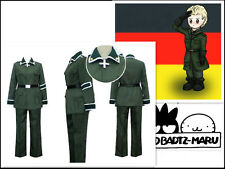 Axis Powers Hetalia APH Germany Cosplay Costume + Wig