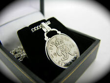 6d SIXPENCE BIRTHDAY COIN NECKLACE CHOOSE YOUR YEAR 1947 - 1967