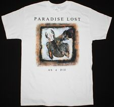 PARADISE LOST AS I DIE'92 GOTHIC DEATH DOOM METAL CATHEDRAL NEW WHITE T-SHIRT