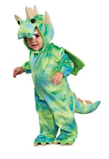 Toddler Child Noahs Ark Collection Blue & Green Dragon Costume Outfit