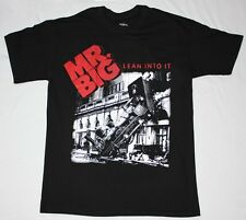 MR BIG LEAN INTO IT'91 HARD ROCK BAND EXTREME IMPPELLITERRI  NEW BLACK T-SHIRT