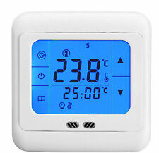 Heating Thermostat 4 All Under Floor Systems with Floor Probe & LCD Touchscreen