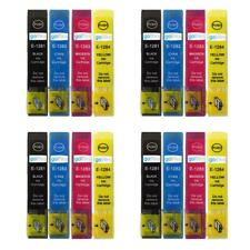 16 Ink Cartridges non-OEM to replace T1281 T1282 T1283 T1284 (T1285) Compatible