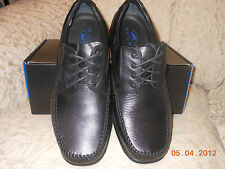NEIL M. Moc Toe Oxford. MILANO black extra wide sizes available mens shoes