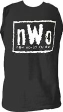 Adult Black nWo New World Order Professional Wrestling Sleeveless T-Shirt Tee
