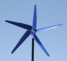 Five HyperSpin Wind Turbine Generator Blades + Hub