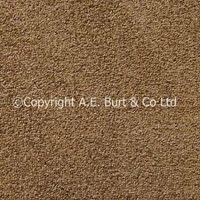 Plano Walnut Brown Twist 4m Wide Carpet Lounge Bedroom Stairs Cheap RRP £8 SqM