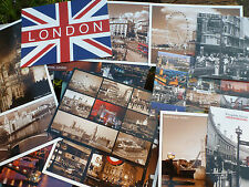 London UK England Souvenir Postcards Iconic Landmark Buildings British Heritage