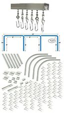 Triple Bay 32' x 10'  Hospital Cubicle Curtain Track Kit Complete