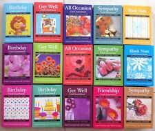 Boxed Greeting Cards-Birthday, Get Well, Sympathy, Friendship, Blank-Your Choice