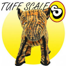 Tuffys ZOO  Series TATTERS THE TIGER Dog Toy DURABLE! TOUGH ! ADORABLE!