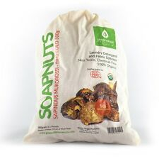 Soap Nuts 500 Gram Bag Deseeded (1.1 lbs) 165 wash loads, Includes 2 wash bags