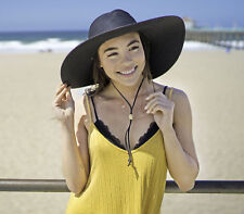 Straw Wide Floppy Brim Sun Hat - One Size USA Seller Free Shipping