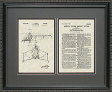 Patent Art - Helicopter - Sikorsky Pilot Aviator Flying Print Flyer Gift S8259