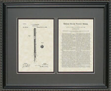Patent Art - Fountain Pen - Waterman Writer Editor Attorney Print Gift W3545