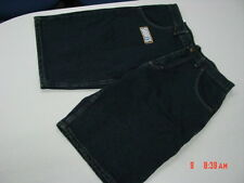 NWT Boys Blue Jean Shorts Rustler Relaxed Fit Nice NEW Steel