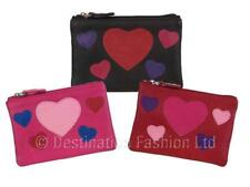 NEW* Mala Leather Ladies/Womens Hearts Pinky Coin Purse
