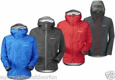 MONTANE ATOMIC WATERPROOF JACKET with HOOD: Breathable Lightweight & Packable