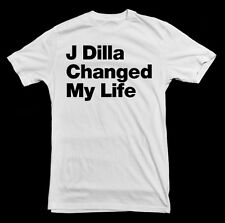 J Dilla Changed My Life T-Shirt - rip detroit classic hip hop producer dj style