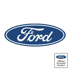 Ford Oval Decals Stickers - Midnight Blue Colour - Various Sizes Available