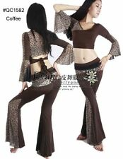 Brand New Belly Dance Costume 2Pics Top&Pants #QC1582