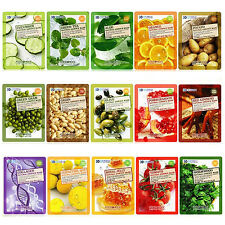Food a Holic - Natural Essence Mask 16 kinds  7pcs