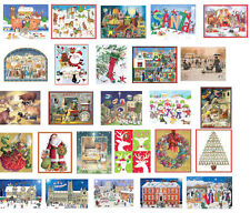 Advent Calendar Cards with envelope - lots of designs you choose free post in UK