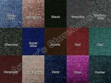 * Special * 20 oz 8' Boat Marine Indoor Outdoor Bass Boat Carpet PICK YOUR COLOR