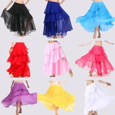 9 colors Brand New Elegant Charming Belly Dance  Dancing Costumes  Spiral Skirt