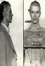DAVID BOWIE MUG SHOT GLOSSY POSTER PICTURE PHOTO music celebrity mugshot cool 24