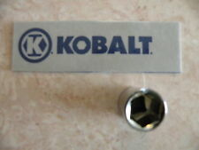 """NEW KOBALT 1/4"""" Drive SAE - SHALLOW SOCKET 6 pt Point Wrench - ANY SIZE Inch in"""