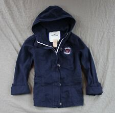 Hollister Womens New Jetty Hoodie Jacket Hooded Outwear Navy by Abercrombie NWT