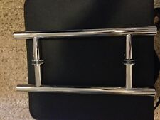 "Frameless Shower Door Handle - 8"" Ladder Style"
