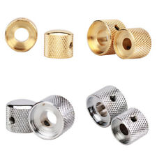 Dual Concentric Control Knob for Bass Guitar Gold Plated or Chrome High Quality