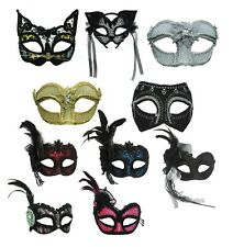 #CARNIVAL EYE MASKS HEADBAND FANCY DRESS DRESS ADULT MASQUERADE OUTFIT ACCESSORY