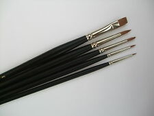 SABLE BRUSHES ** GRIMAS FACE PAINTING BRUSHES ** TOP QUALITY