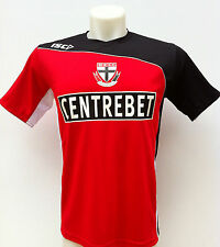 St Kilda Saints Red Training Shirt S - 3XL BNWT2