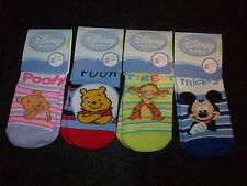 Disney Baby Socks 3-12 Months Pooh, Tigger, Mickey Mouse NWT Novelty Socks
